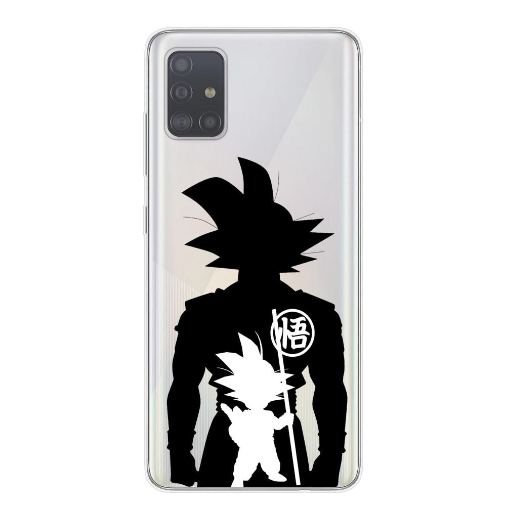 Dragon Ball Z Super DBZ Goku DBS Fashion Coque Phone Case Cover shell For Samsung S20 Ultra Plus A51 A71 A10 A20 A30 A40 A50 A70