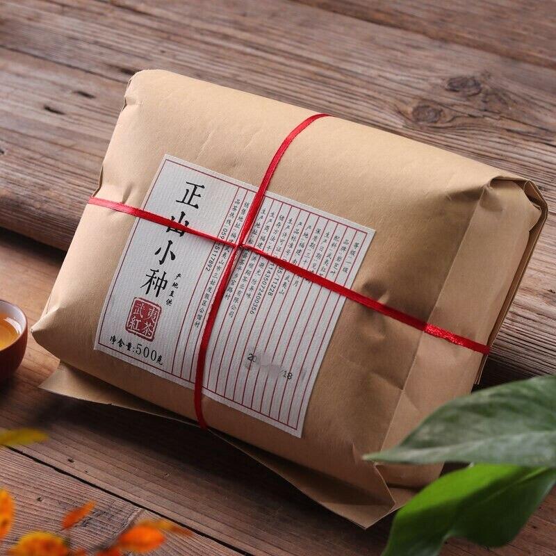 2020 Year 500g Lapsang Souchong Black Zheng Shan Xiao Zhong Fujian Wuyi Tea Tong Mu Guan