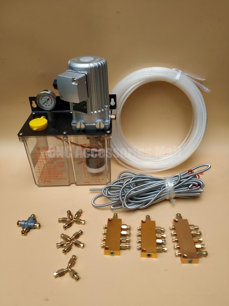 Полный набор 3л Электрический смазочный насос 220В смазка насос
