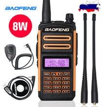 2020 tri band walkie talkie 8w high power baofeng uv h9 two