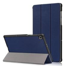 20PCS/Lot 2020 Flip Abdeckung Für Lenovo Tab M10 FHD Plus X606 Dünne Luxus Tablet PU Ledertasche