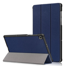 20PCS/Lot 2020 Flip Cover For Lenovo Tab M10 FHD Plus X606 Slim Luxury Tablet PU Leather Case