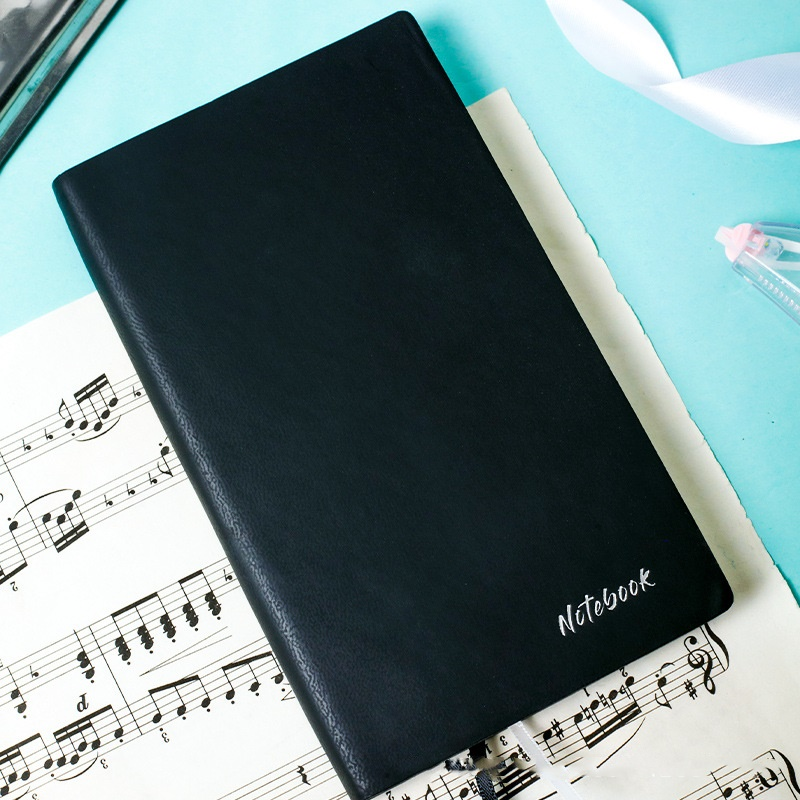 Kawaii Leather Cover Notebook 100 Sheet Line Page Schedule Journal Diary Book Memo Notepad Agenda D6078