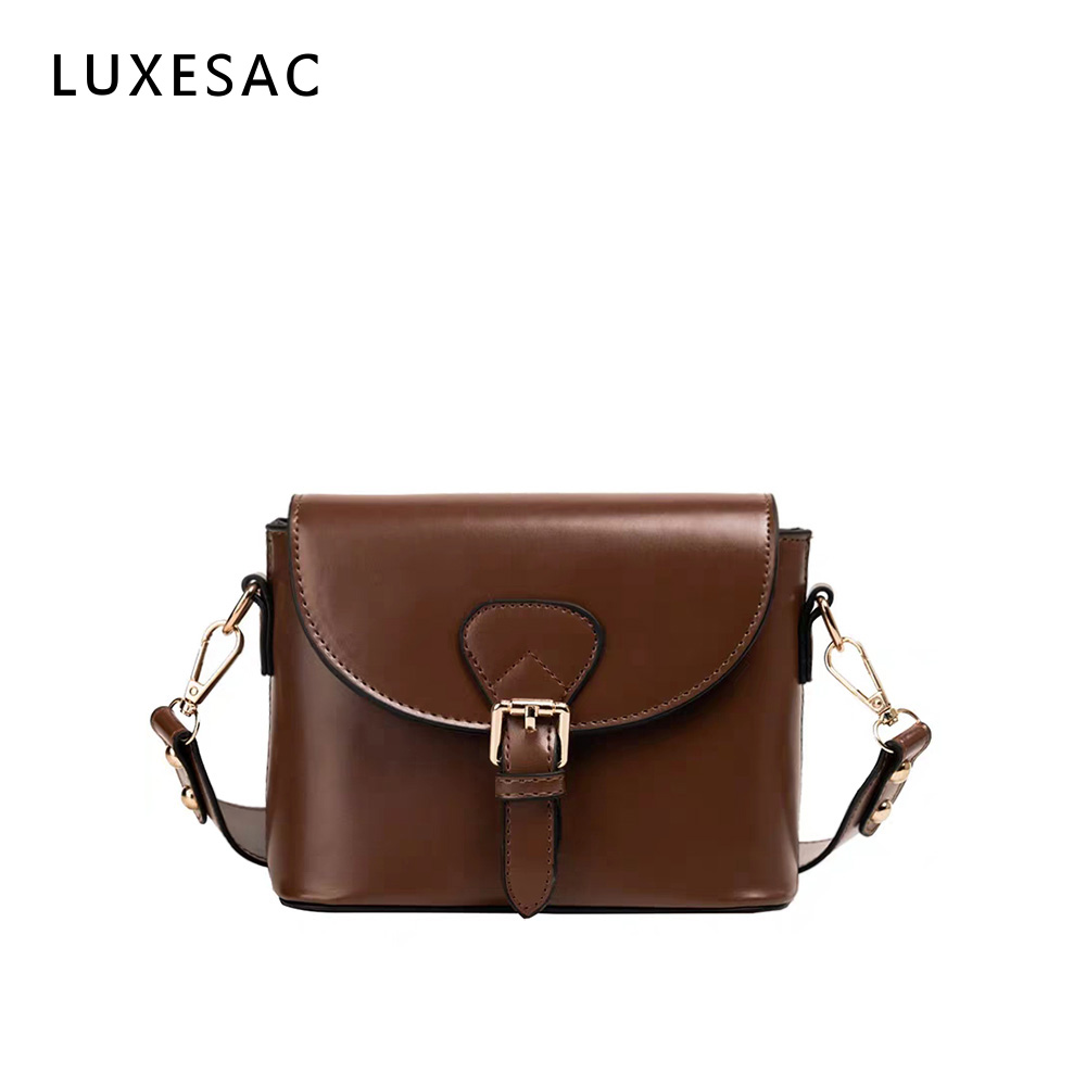 Brown Bag Ladies Shoulder Bags Clutch Bag Female Crossbody Bag For Women 2019 Quality Pu Messenger Bags With Wide Strap Handbag