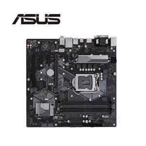 For Asus PRIME H370M-PLUS Original Used Desktop Intel H370 H370M DDR4 Motherboard LGA 1151 i7/i5/i3 USB3.0 SATA3(China)