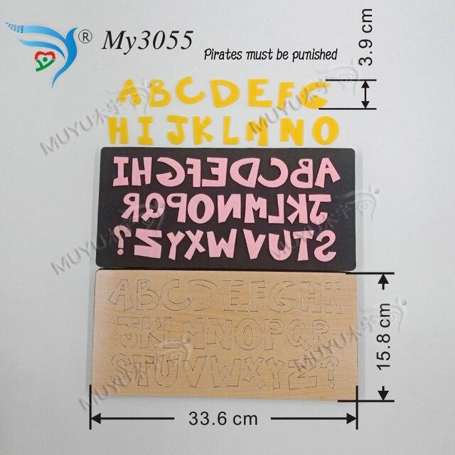 A Z gestanzte DIY muyu schneiden sterben    neue holz form schneiden stirbt für scrapbooking MY3055