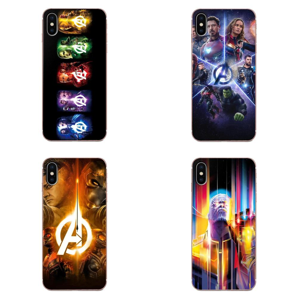 Marvel avengers wanda homem de ferro thanos vingadores para apple iphone 4 4S 5 5c 5S se se2 6 s 7 8 11 plus pro x xs max xr