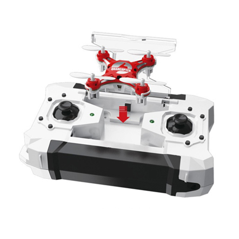 Mini Unmanned Aerial Vehicle Remote Control Aircraft Pocket FQ777-124 Remote Control Aircraft Elf Mini Quadcopter