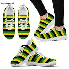 Flag Stripes Shoes Breathable Lightweight Sneakers PU27