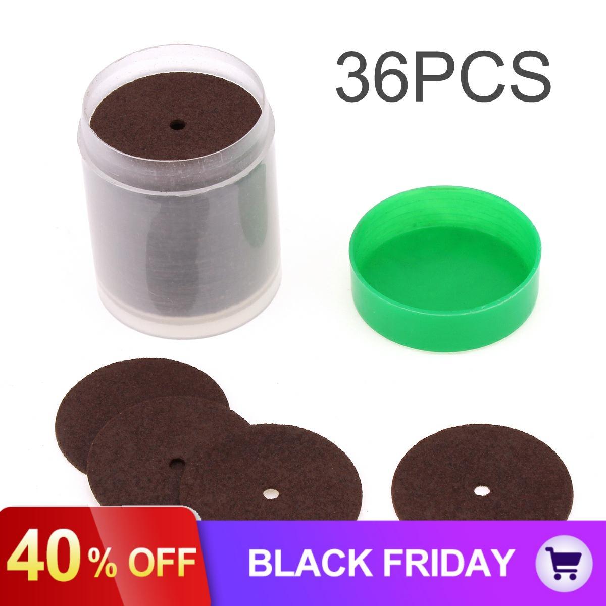 36pcs Resin Cutting Wheel Disc Abrasive Sand Cut-off Wheels For Dremel Rotary Tool