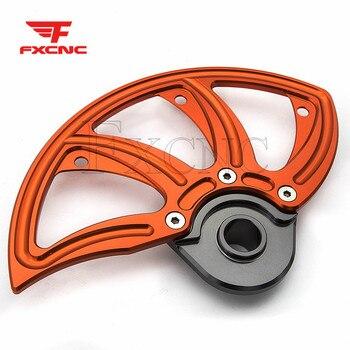 Para KTM XCW/XCF-W/EXC/EXC-F/6 días 2013-2019, 2018, 2017, 2016 eje CNC disco de freno delantero para motocicleta Protector proteger