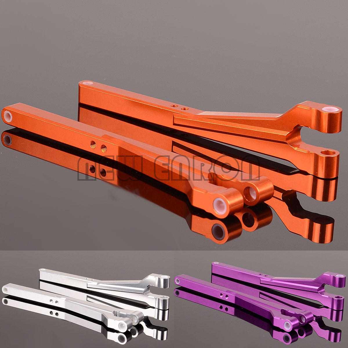 NEW ENRON #85238 2P Aluminum Upper Arms Front&Rear For RC Car HPI 1/8 <font><b>SAVAGE</b></font> <font><b>21</b></font> 25 SS 3.5 4.1 4.6 5.9 FLUX X XL 85066/85067 image