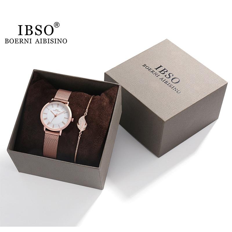 Luxus Armband Uhren Set Für Frauen Mode Geometrischen Armreif Quarz Uhr Damen Armbanduhr frauen geschenk