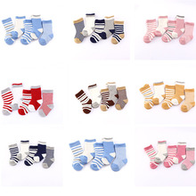 5 Pairs/Lot Baby Cotton Socks Newborn Boys Girls Infant Newborn Bebe Toddlers Fashion Cute Child Socks Spring Summer Floor Sock 5 pairs lot infant baby socks summer non slip socks newborn baby girls boys toddlers cotton bebe cartoon fashion cute floor sock
