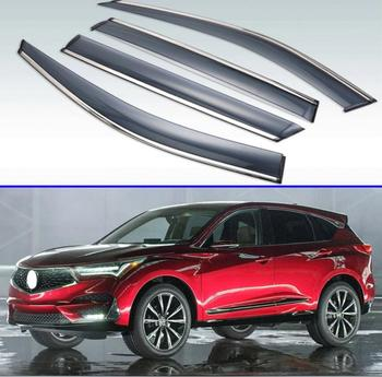 For Acura RDX 2013-2018 Plastic Exterior Visor Vent Shades Window Sun Rain Guard Deflector 4pcs