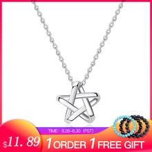 SA Silver Necklace Long