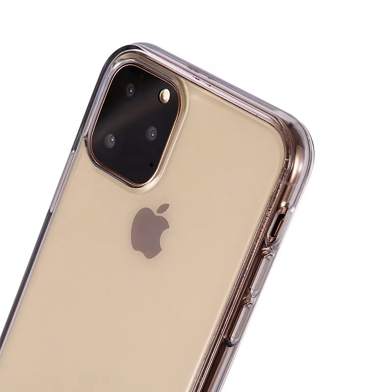 Comanke Transparent Candy Color Silicone Cases for iPhone 11/11 Pro/11 Pro Max 50
