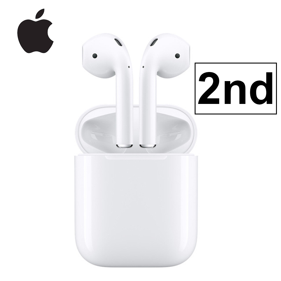 Apple AirPods 2nd şarj durumda Bluetooth kulaklık kablosuz bas kulakiçi ton bağlantı Siri iPhone iPad Mac Apple Watch