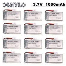 12Pcs 3.7V 1000mAh 25c Lipo Bateria Para Syma X5 X5C X5C-1 X5S X5SW X5SC V931 H5C CX-30 CX-30W RC Quadcopter Peças De Reposição 952540