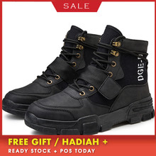 Round Toe High Top Boots High Quality Winter Men's Boots Warm Working Boots Lace Up New Casual Shoes Leather Snow Boots For Men цена 2017