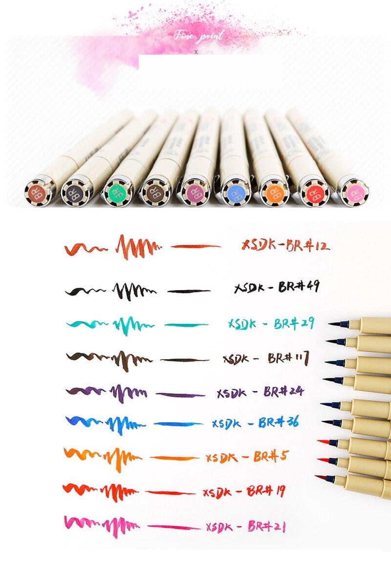 animados pigma micron caneta arte marcadores