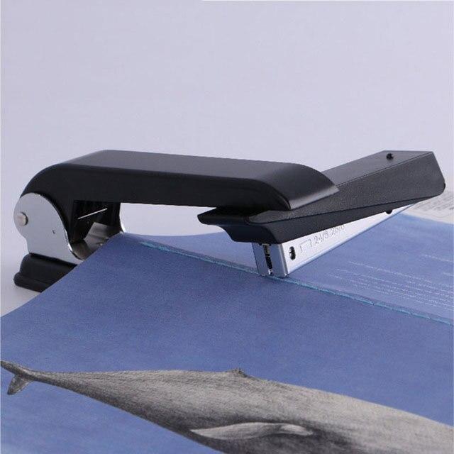 Agrafeuse rotative - noir - reliure livret avec couverture