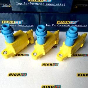 Image 1 - 90919 02216 performans ateşleme bobini için fit Lexus UF 228 UF228 IS300 GS 300 SC Supra VVTi JZS160 3.0L 9091902216 88921376