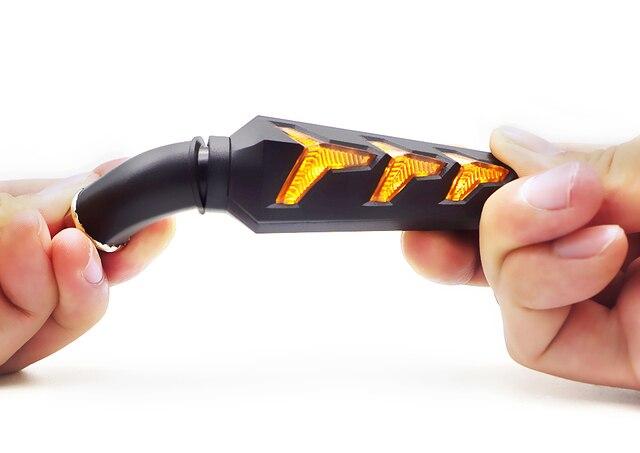 Señales de giro de motocicletas para honda fmx 650 cbr 600hr integra 750 shadow 600 hornet faro clignantant Moto LED Intermitentes