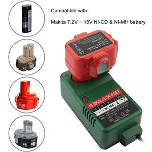 Image 3 - 7.2V 18V Battery Charger Adapter for Makita 7.2V 9.6V 12V 14.4V 18V NI MH NI CD