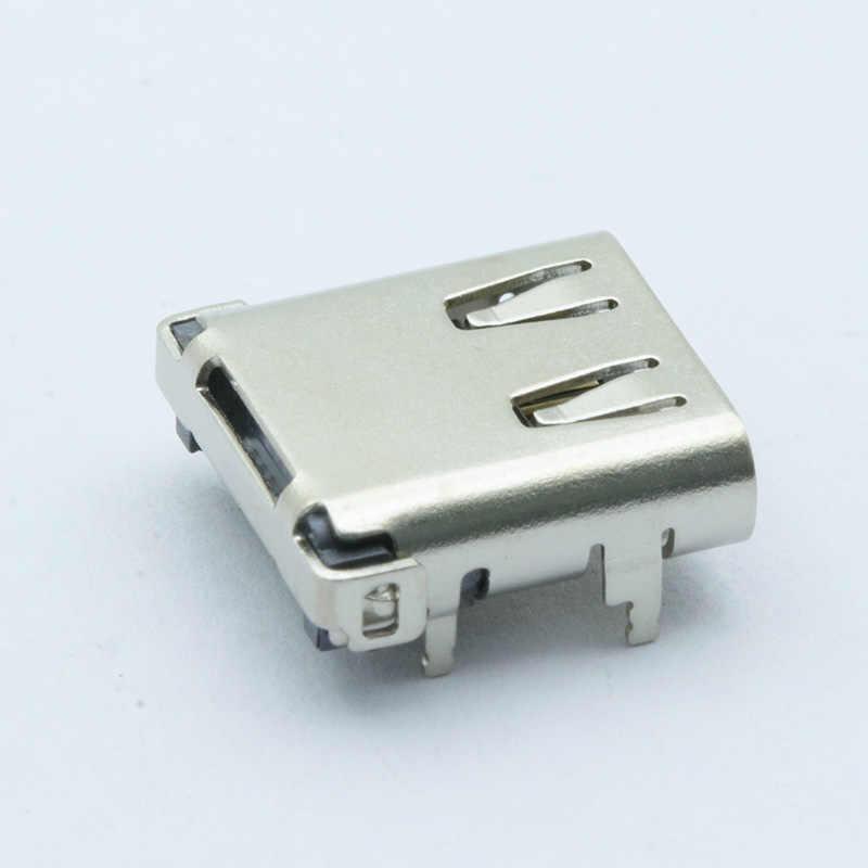 10 Stks/partij Usb 3.1 Type-C 24 Pin Vrouwelijke Socket Smd Dip Pcb Connector Voor Pcb Ontwerp Diy Hoge stroom Snel Opladen