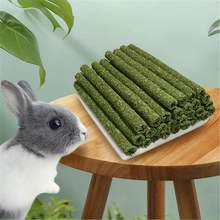 30 шт травяные палочки alfalfa маленькие животные моляр игрушка