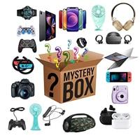 Lucky Box-caja ciega misteriosa, regalos sorpresa, Drones, Gamepads, auriculares para teléfonos móviles, relojes inteligentes, regalo de cumpleaños