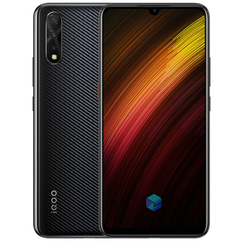 Offizielle Neue Original Vivo IQOO Neo 855 Handy Snapdragon 855 6,38 zoll 6G 128G Super AOLED NFC 33W Super Ladegerät 4500Mah