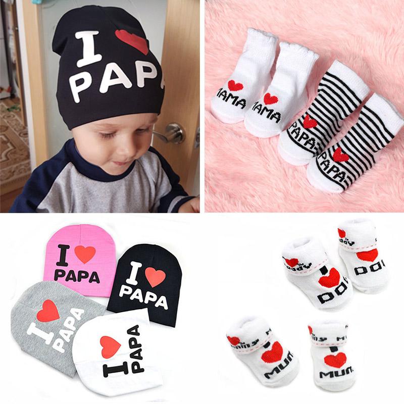 Cute Letter Print Newborn Baby Socks Soft Baby Girls Boys Socks Sokken Infant Toddler Stripe Anti Slip Floor Socks Kids Gift