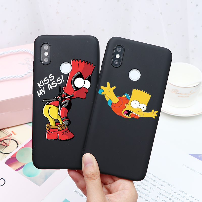 Cartoon Simpson Coque For Xiaomi Mi A3 9T Note 10 Pro 9 SE 8 Lite For Redmi Note 8T 8 7 Pro 9 S 9S K20 K30 Pocophone F2 Pro Case