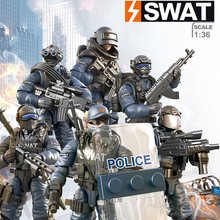 Building-Block Action-Figures Jty-Toys Model Ce Military for Children Weapons SWAT Christmas-Gift