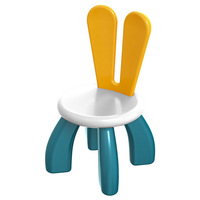 Children's toy building block special rabbit ear chair detachable and assembled kids chairs children furniture