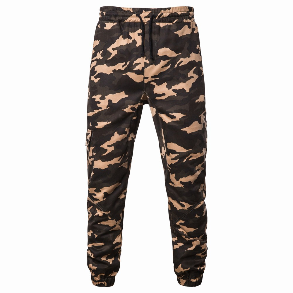 2019 Autumn And Winter New Style Men Trend Jungle Camo Casual Athletic Pants