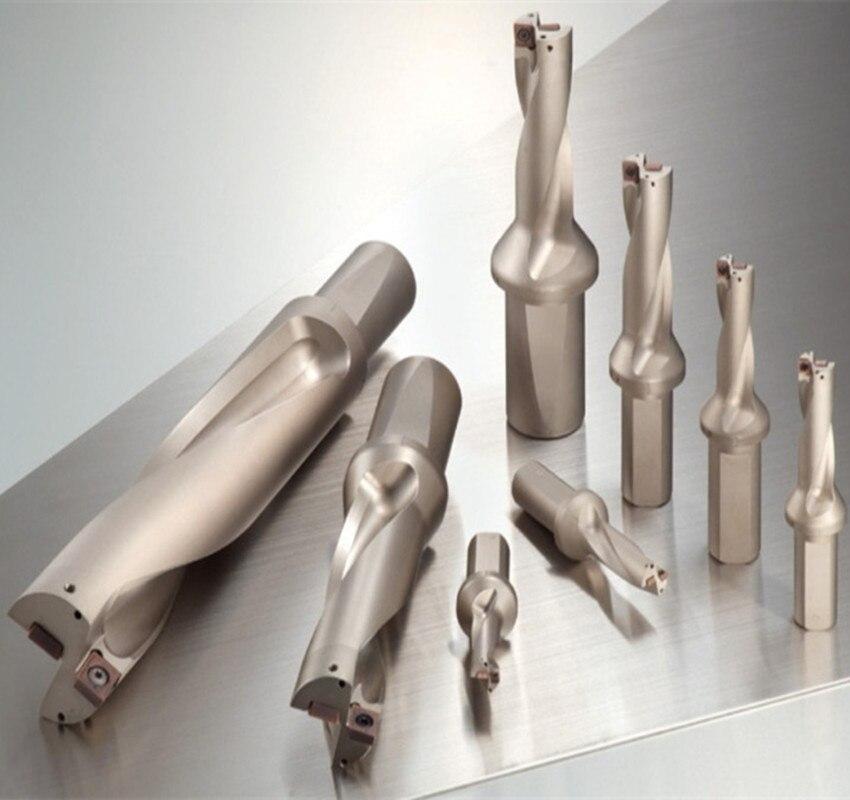 Vorteil Großhandel Wcwd Verlassen Schnelle Bohrer D20.5 D25 3D Bohrer Gewalt Verlängern U Bohrer Messer - 2