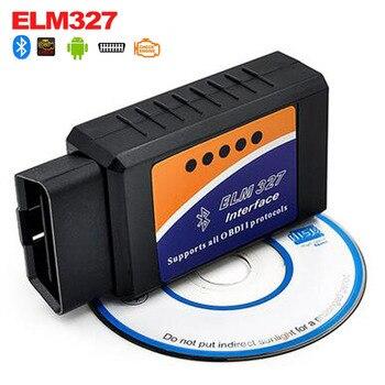 2019 ELM 327 V 2,1 BT adaptador funciona en Android par Elm327 Bluetooth V2.1 interfaz OBD2/OBD II Auto diagnóstico de coche-escáner