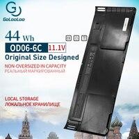Golooloo OD06XL Laptop Battery for HP EliteBook Revolve 810 Tablet Series HSTNN IB4F HSTNN W91C H6L25AA H6L25UT 44 WH 11.1V