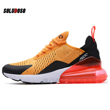 Men Sneakers Breathable Zapatillas Hombre 270 Couple Fitness Sneakers Women Gym Trainers Outdoor Sport Shoes Men high quality original mizuno wave prophecy 6 professional weightlifting shoes men sneakers outdoor high quality sport sneakers size 40 45