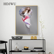 Nordic Modern Home Wall Canvas Painting Abstract Art Printing Posters Pictures for Living Room DJ369