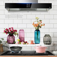 Anti-oil Pollution Kitchen PET Wall Stickers for Cabinet Stove Waterproof Kitchen Sticker Home Decoration Mural Decals Wallpaper