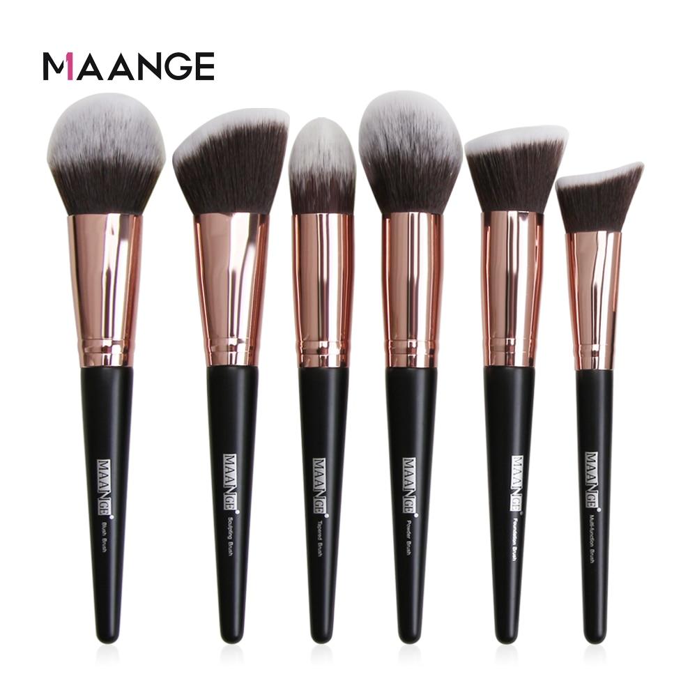 MAANGE Pro 1PC Makeup Brushes For Foundation Powder Blush Eyeshadow Concealer Large Big Make Up Brush Cosmetics Beauty Tools
