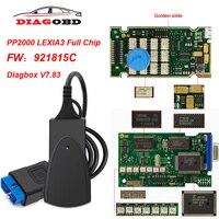 Lexia 3 Full Chip PP2000 Diagbox V7.83 For PSA LEXIA3 For Citroen/Peugeot OBD OBD2 Scanner Car diagnostic Tool