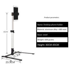 Image 3 - צילום מתכוונן שולחן למעלה Stand סט מיני חדרגל + טלפון קליפ למלא אור שליטת Bluetooth