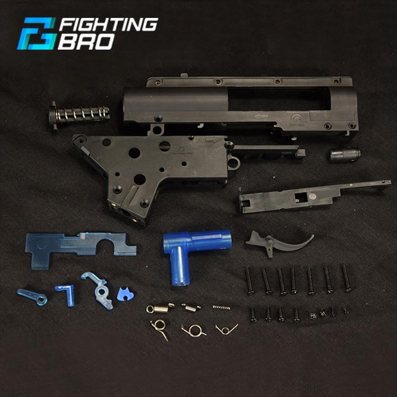 FightingBro 4.0 Gel Gearbox Gel Split Gearbox Nylon Receiver For Airsoft AEG Air Guns Paintball Tactical Air Gun