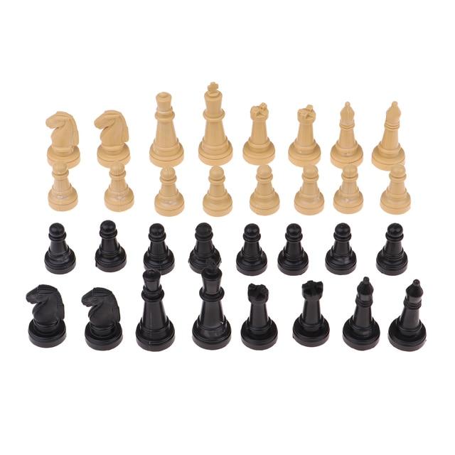 32x pièces d'échecs, sans echiquier 4