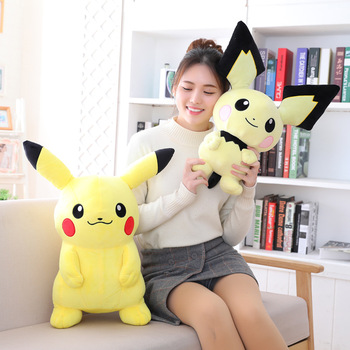 Pokemon Anime Pikachu Plush Toys Collection Pikachu Plush Doll Toys For kids toys Christmas Gift 30cm height limited edition eevee luma anime new plush doll for fans collection toy celebi
